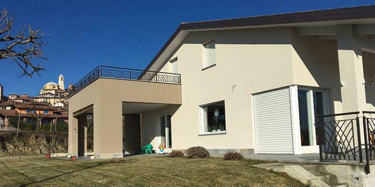 Realizzazione nuova villetta - Montegrosso d'Asti (AT)