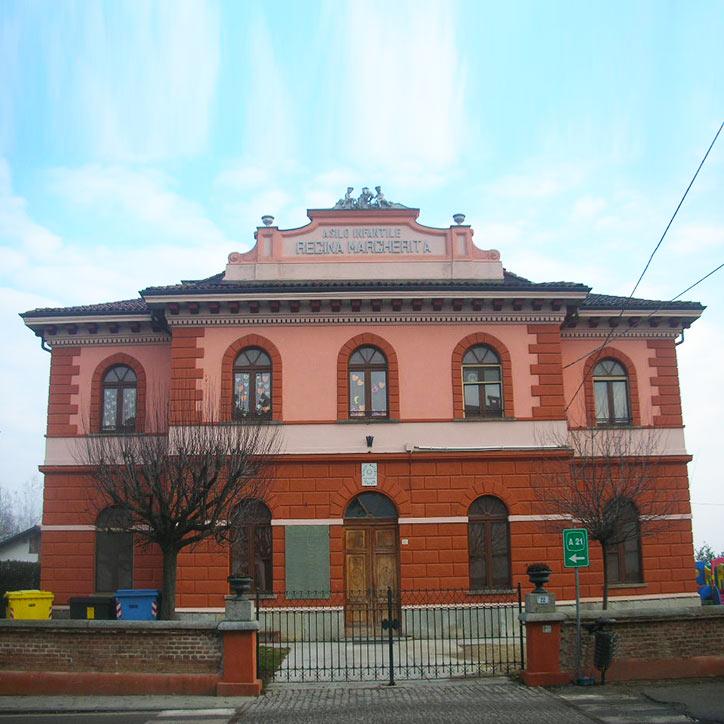 Ristrutturazione asilo Regina Margherita