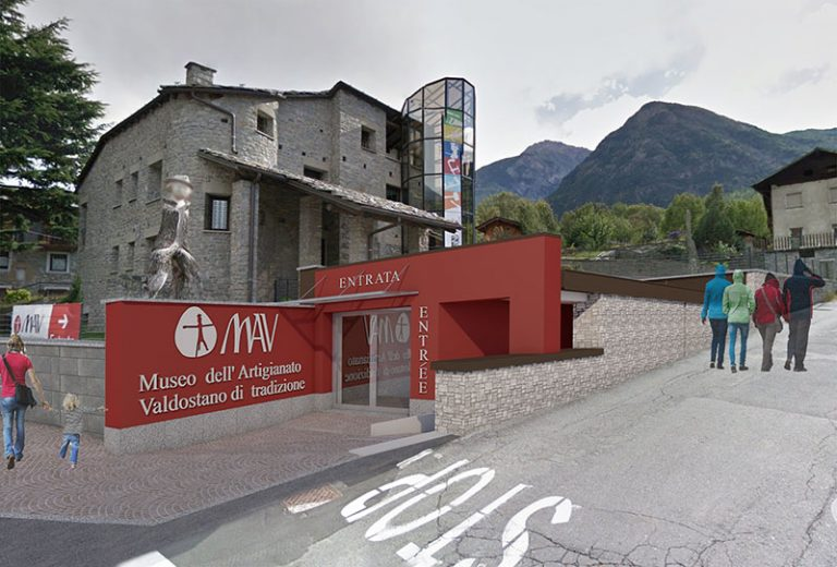Realizzazione di atrio a servizio del MAV nel comune di Fenis