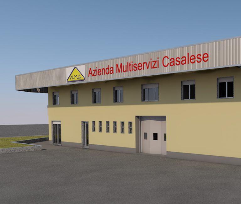 Nuova sede dell'Azienda Multiservizi Casalese